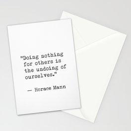 Horace Mann Stationery Cards
