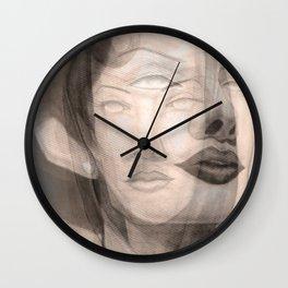 Space Ladies Wall Clock