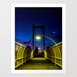 Just a Pedestrian Sunrise Art Print