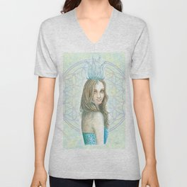 Her Invisible Crown Unisex V-Neck