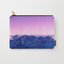 Pink Mountains #society6 #photography Carry-All Pouch