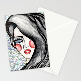 Don't let your fears paralize you Stationery Cards