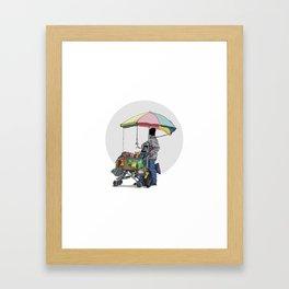 Hombre Framed Art Print