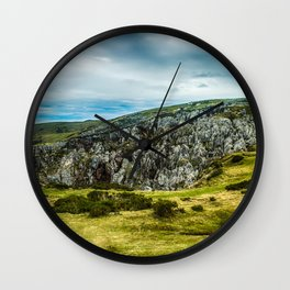 Cantabrian Mountains Wall Clock