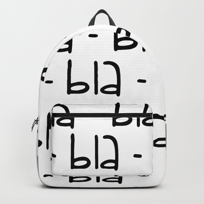 bla-bla-bla Backpack