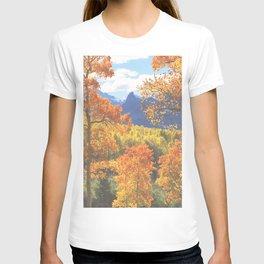 Aspen in the Uncompahgre Range, Colorado T-shirt