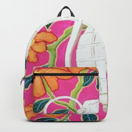 Tropical Resort Grenade Pop Art Backpack