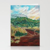 country Stationery Cards featuring Country by Art by Risa Oram