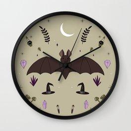 Adorable Bats Wall Clock