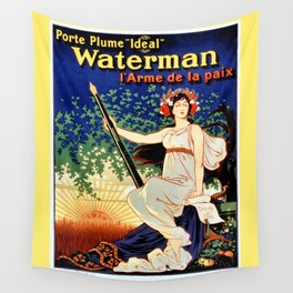 Waterman fountain pens 1919 Wall Tapestry