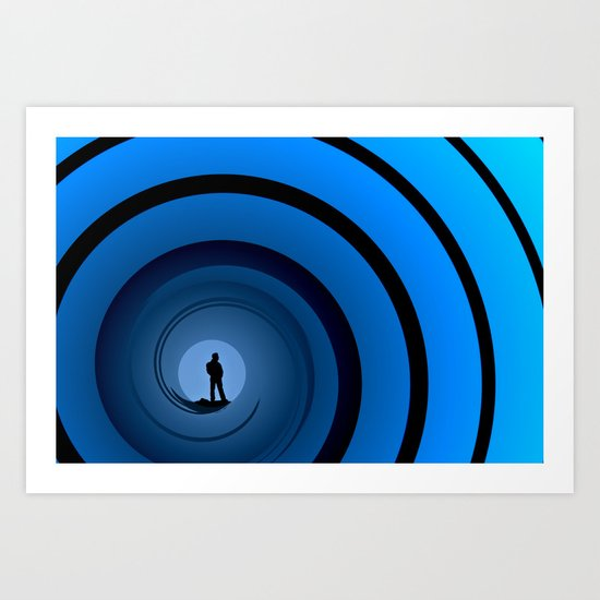 Bond Man Art Print