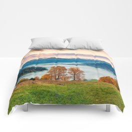 Beautiful Nature Concept Background Comforters