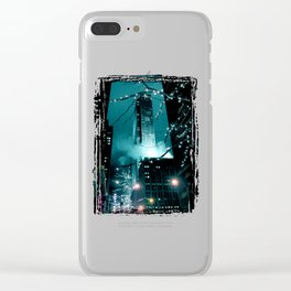 New York City #2 Clear iPhone Case