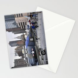 A British Harrier Jet in New York Stationery Cards