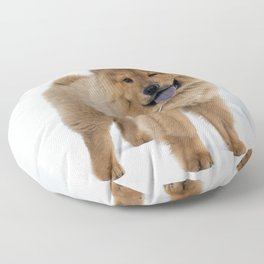 Chow Chow Puppy Floor Pillow