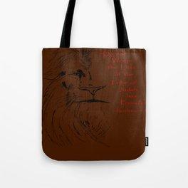 Revelation 5:5 Lion Tote Bag