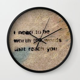 Cemented Series 5 Wall Clock