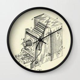 Photographic Camera-1887 Wall Clock