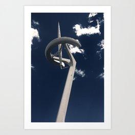 Torre Calatrava  Art Print