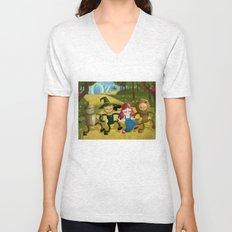 Wizard of Oz fan art Unisex V-Neck