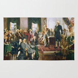 Signing Of The Constitution Rug