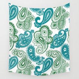 fun paisley Wall Tapestry