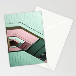 Color stairs Stationery Cards
