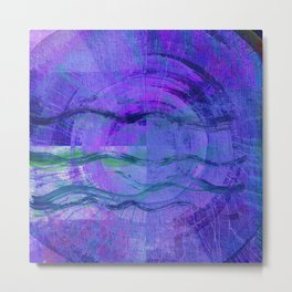 Jala (Water) #Abstract Metal Print