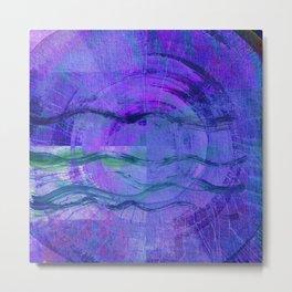 Jala (Water) #Abstract Metal Print