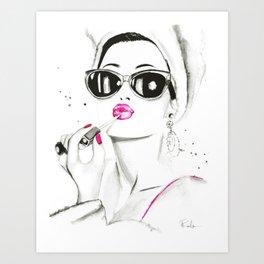 Pucker Up Art Print