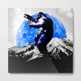 KING KONG: I'M PRETTY SURE IT'S LOVE! Metal Print