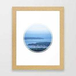 Bar Harbor, ME Framed Art Print
