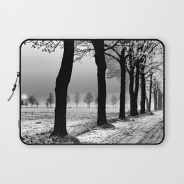 Snowy Day in the Country Laptop Sleeve