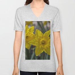 Daffodils 1 Unisex V-Neck