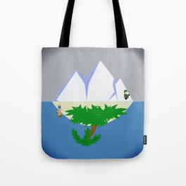 Worlds Apart? Tote Bag