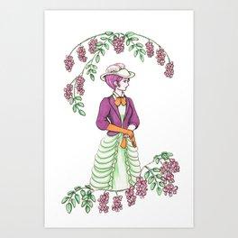 Rose Acacia - Elegance Art Print