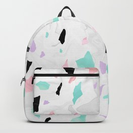 Shining, Pastel, Terrazzo. Backpack