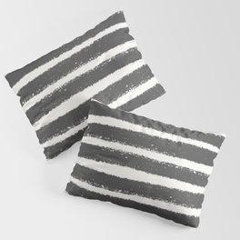 Black and white brush art Pillow Sham