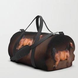 Arabian Bay Horse Duffle Bag