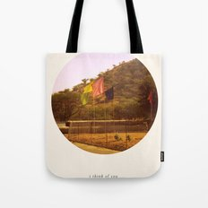 i think of you in colors that don't exist Tote Bag