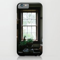 Vintage Pantry With Plants iPhone 6s Slim Case