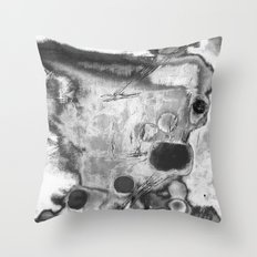 Artist Gone Mad Throw Pillow