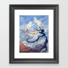 Summoning Dusk Framed Art Print