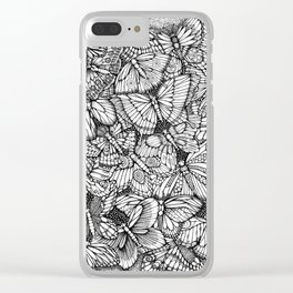 The Butterflies Waltzes by Kent Chua Clear iPhone Case