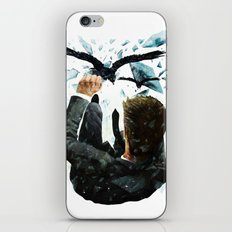 Falling To The Crows iPhone & iPod Skin