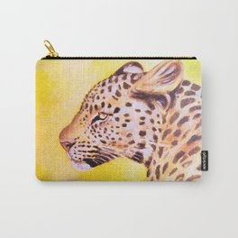 Leopard Sun Carry-All Pouch
