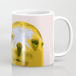 SEAL, HAPPY SEAL, SEAL FACE, Larhe pop art, curious seal, pop art animal, little seal, baby seal Coffee Mug