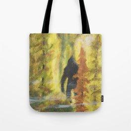 Sasquatch in Fall - aka Blob squatch Tote Bag