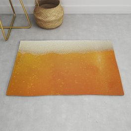 Beer Bubbles Rug