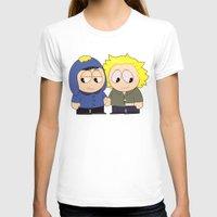 yaoi T-shirts featuring Craig X Tweek by FrankenPup